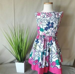 Gymboree Tropical Twirl Floral Dress